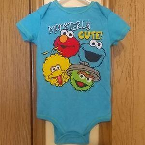 Sesame Street bodysuit (24 MOS)
